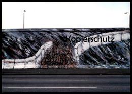 ÄLTERE POSTKARTE BERLINER MAUER THE WALL LE MUR BERLIN Art Kani Alavi Ansichtskarte AK Cpa Postcard - Berliner Mauer