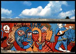 ÄLTERE POSTKARTE BERLINER MAUER 1985 THE WALL LE MUR BERLIN Art Ansichtskarte AK Cpa Postcard - Berliner Mauer