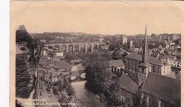 Luxembourg - Ville > Vue Sur Le Pla Teau Du Rham - Luxemburg - Town