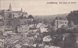 Luxembourg - Ville >  Ville Basse Du Grund - Luxemburg - Town