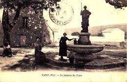 83 / NANS / LA FONTAINE DU COURS - Nans-les-Pins
