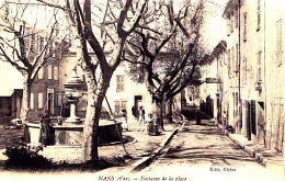 83 / NANS / FONTAINE DE LA PLACE - Nans-les-Pins