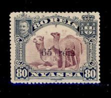 ! ! Nyassa - 1903 D. Carlos Local OVP 65 R - Af. 45 - MH - Nyasaland