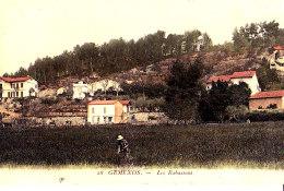 13 / GEMENOS / LES RABASSONS / TRES BELLE CARTE PAPIER GLACE / BAUDOIN - Frankrijk