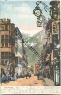 Sterzing - Strassenpartie - Bickerdike-Stempel Aus München 2 B P Vom 31.08.1905 - Vipiteno