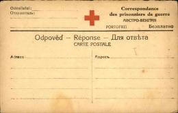 FRANCE - Carte Réponse Coix Rouge Pour Prisonniers Non Voyagé - A Voir - L  3107 - Marcophilie (Lettres)