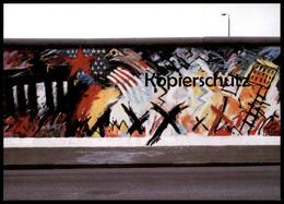 ÄLTERE POSTKARTE BERLINER MAUER THE WALL LE MUR BERLIN Art Peter Lorenz Ansichtskarte AK Cpa Postcard - Berliner Mauer
