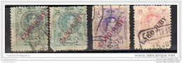 1919.- Cabo Jubi  ( Sobrecargas Dudosas ) - Cabo Juby