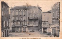 """¤¤    -    10   -   LA  LOUVESC     -  La Place Côté Nord  -  Hôtel """" Au Lion D'Or """" """" PAILLET """"    -   ¤¤ - La Louvesc"""
