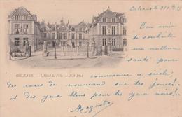 G , Cp , 45 , ORLÉANS , L'Hôtel De Ville - Orleans