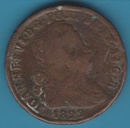 PORTUGAL Pataco 40 Reis 1822  JOANNES·VI   KM# 370 - Portugal