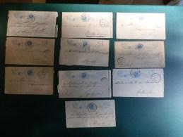 KARTONNENDOOS 8/O2O       10 BLADBLAD OF VOORKANT POSTBLAD - Postal Stationery