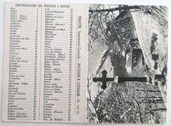 CALENDRIER 1956 PETIT FORMAT - Calendriers