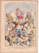 Le Pèlerin TURQUIE Turkey Turc Guerre Des Balkans Tyran Abdul AMID Caricature Par LEMOT - Giornali