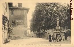LESTERPS MONUMENTS AUX MORTS ANIMEE PUBLICITE BYRRH 16 CHARENTE - Francia