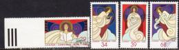Canada 1986 Christmas Set Of 4, Used (SG1218-21) - 1952-.... Reign Of Elizabeth II