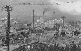 71-LE CREUSOT- SERVICES AUXILIAIRES,  PRESSE ET PILONS - Le Creusot