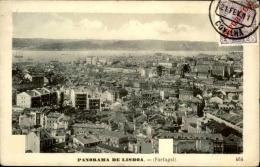 PORTUGAL - Timbre Surchargé Sur Carte Postale De Lisbonne En 1911 - A Voir- L  3148 - 1910-... République