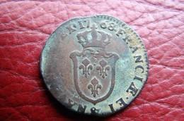 1768 Sol D'Aix - 987-1789 Monnaies Royales
