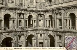 PORTUGAL - Timbre Surchargé Sur Carte Postale De Thomar En 1911 - A Voir- L  3152 - 1910-... République