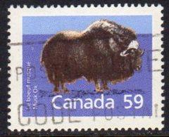Canada 1988-93 59c Musk Ox Definitive, Used (SG1272) - 1952-.... Reign Of Elizabeth II