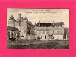 FONTENAY-le-COMTE, Château De Terre-Neuve, Animée, (A. Robin), 85 Vendée. - Fontenay Le Comte