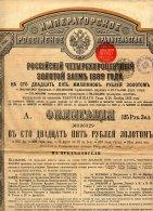 RUSSIE / EMPRUNT RUSSE 4% OR 1889 - Russie
