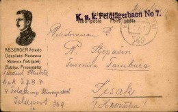 SERBIE- Carte En Franchise En 1917 - A Voir - L  3160 - Serbie