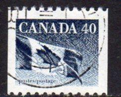 Canada 1989-2005 40c Coil Stamp Definitive, Used (SG1361) - 1952-.... Reign Of Elizabeth II