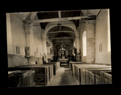 27 - LE COUDRAY-EN-VEXIN - - Intérieur église - France