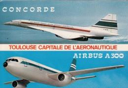 CONCORDE Et  AIRBUS  A300 - 1946-....: Era Moderna