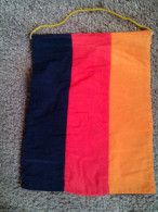 """ULTRA RARE FLAG GERMANY CHANGE TOURNAMENT FOOTBALL 1970""""S USED - Apparel, Souvenirs & Other"""