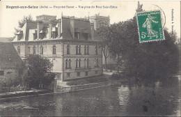 CP 10 Aube  NOGENT SUR SEINE Propriété SASSOT Vue Prise Du Pont Saint St Edme ( Habitation Quai ) - Nogent-sur-Seine