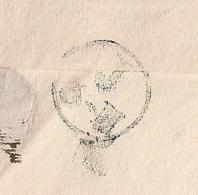 J 3-H Au Verso LAC De PARIS. 1836. - Storia Postale
