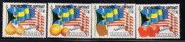 1992 Bahamas Contract Farm Labour USA  Flag America  Complete Set Of 4 MNH - Bahamas (1973-...)