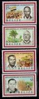 1991 Belize Independence  Complete Set Of 4 MNH - Belize (1973-...)