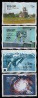1991 Belize Hurricane Weather  Complete Set Of 4 MNH - Belize (1973-...)
