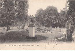 G , Cp , 62 , BÉTHUNE , Un Site Du Jardin Public - Bethune