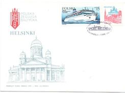 POLAND FDC 5 PIECES COLLECTION  1986 (SET160340-43) - FDC