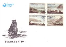 Foroyar Stanley Cover 1985  (SET160344) - Francobolli