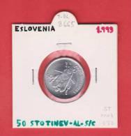 ESLOVENIA   50  STOTINOV   1.993  AL  KM#3   SC/UNC    DL-8665 - Eslovenia