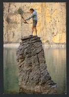 *Jean-Pierre Guillemot* 2º Camp. De Pesca Al Arco 1989. Texto Y Firma Autogarfa - Tir à L'Arc