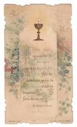 Santino.28 Prima Comunione 1900 Paris - Vecchi Documenti
