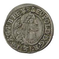 Autriche -  3 Kreuzer - Léopold 1er - 1666 -  Billon - 1,72gr. - TTB - - Austria