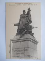 """CPA """"Puteaux Courbevoie - Monument De La Défense De Paris (1870 1871)"""" - Puteaux"""