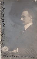 Célébrités - Autriche Austria - Raoul Auernheimer Österreichischer Jurist, Journalist Und Schriftsteller - Autographe - Ecrivains
