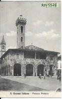 Toscana-arezzo-s.giovanni Valdarno Palazzo Pretorio Veduta Animata - Italia
