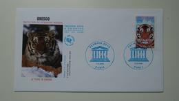 FRANCE FDC 1 Enveloppe 1er Premier Jour UNESCO 2006 Tigre De Sibérie - Timbre Poste - 2000-2009