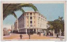 MAROC CASABLANCA ANGLE RUE GALLIENI BOULEVARD PARIS CPA BON ÉTAT - Casablanca