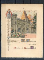 01   CHATEAU  DE  PEYRIEU   :  GRANDE  CARTE  SOUVENIR  1931 - 1932  . - France